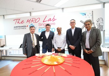 Air France Industries KLM E&M dan Ramco Systems membangun Laboratorium MRO di Singapura